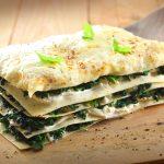 Image of vegan lasagna as described in the vegan recipe in the post.