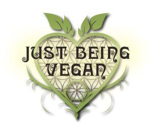 Just Being Vegan logo