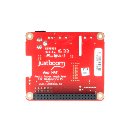 JustBoom Raspberry Pi Amplifier board
