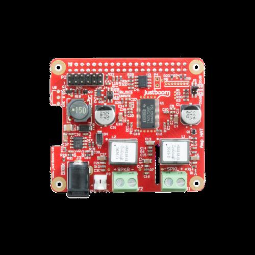 JustBoom Raspberry Pi Amplifier board