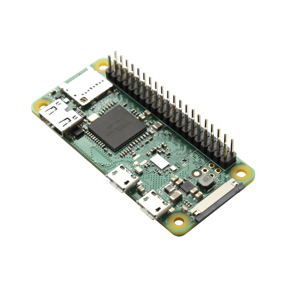 Raspberry Pi Zero W With Soldered Header Justboom