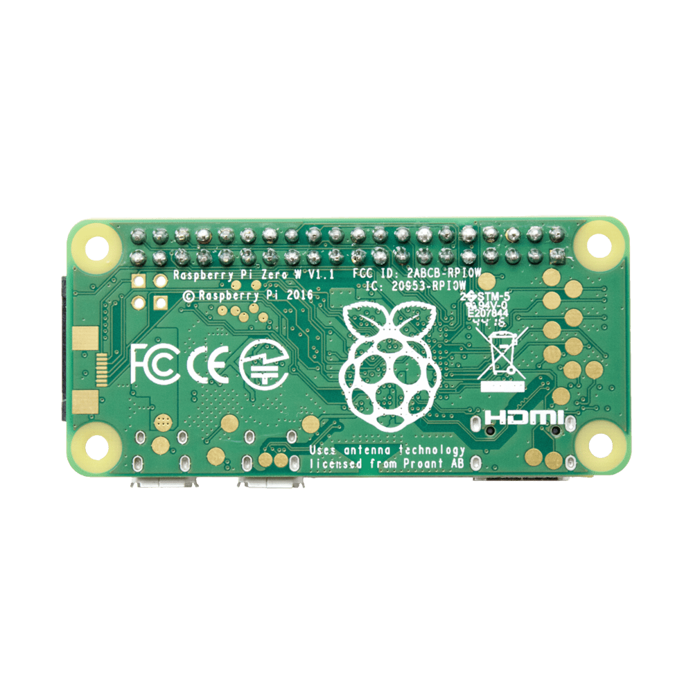 Raspberry Pi Zero W with Soldered Header • JustBoom