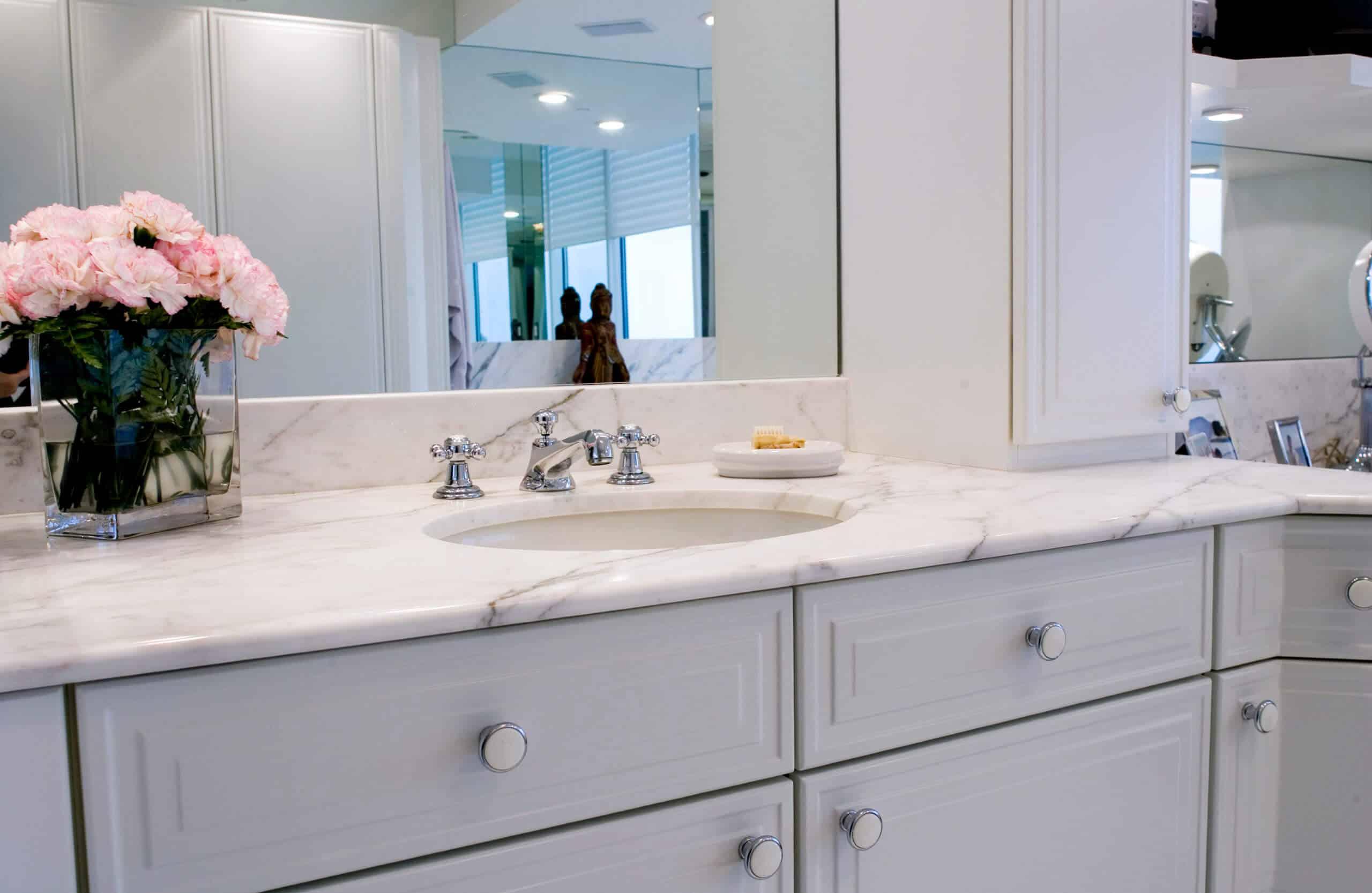 repair and restore bathroom marble