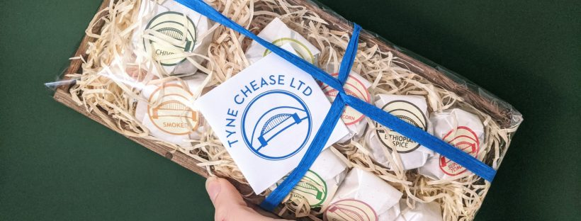 Tyne Chease vegan gift set from Yumbles