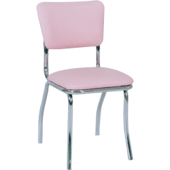 Just Chairs And Tables Kids Chair Table Metal Retro Upholstered Chrome