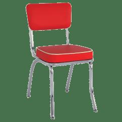 Retro Chrome Chairs Recliner Massage Chair Restaurant Metal Upholstered