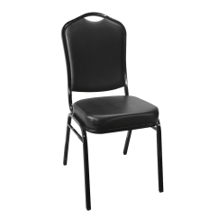 Metal Stackable Chairs Small Pub Table And 2 Stacking Square Back Banquet Chair