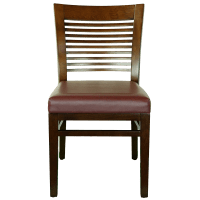 Chairs : Wood Decorative Ladder Back Side Chair