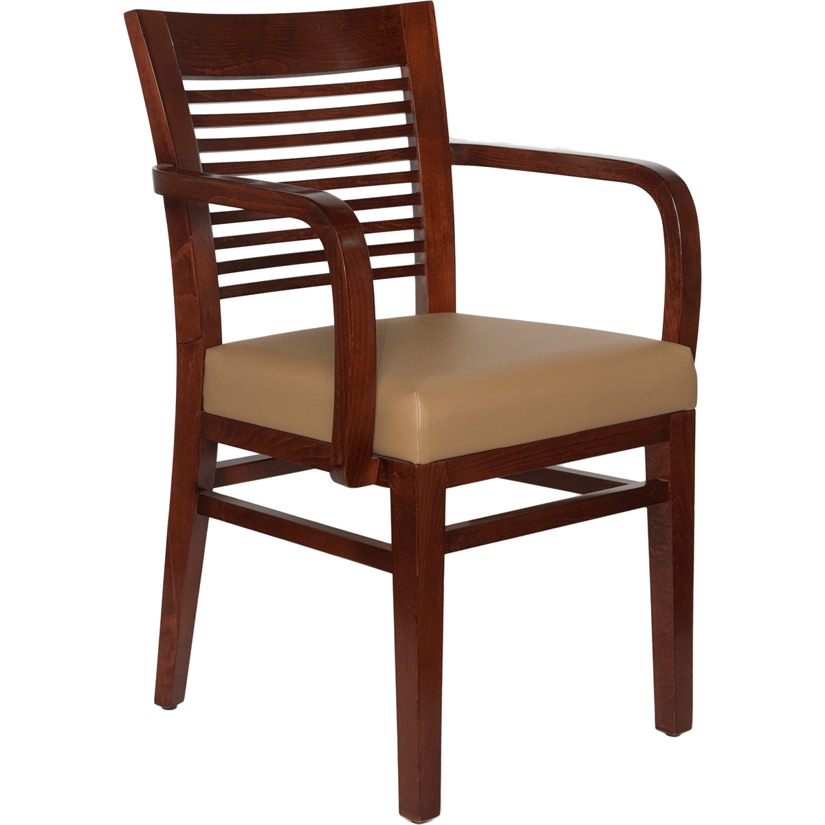 fancy accent chairs used dinning restaurant wood decorative ladder back arm chair