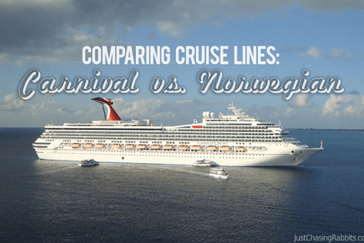 Comparing Cruise Lines: Carnival Vs. Norwegian
