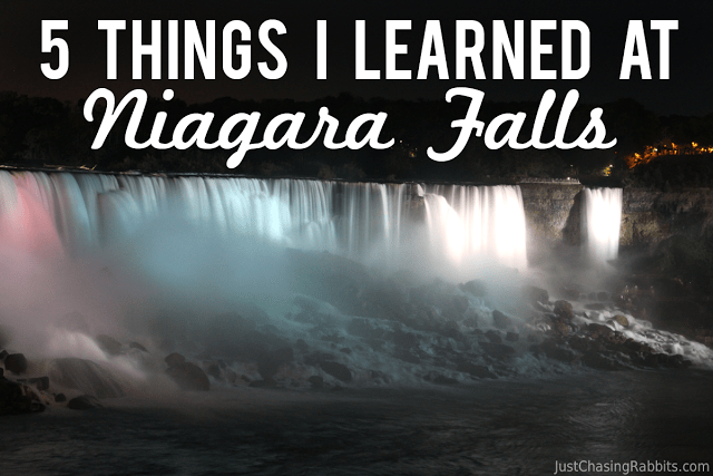 5 Things I Learned at Niagara Falls