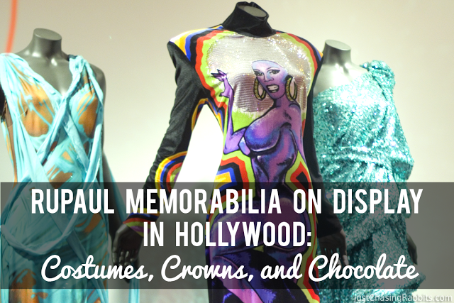 RuPaul Memorabilia on Display in Hollywood: Costumes, Crowns, and Chocolate