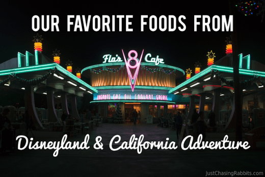 Favorite Foods from Disneyland and California Adventure