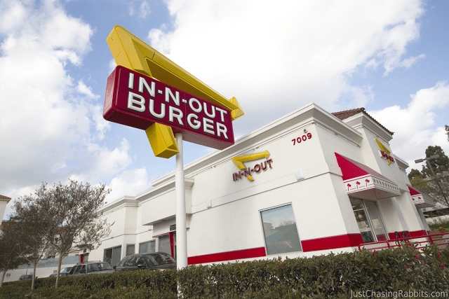 In-N-Out Burger in Los Angeles, California