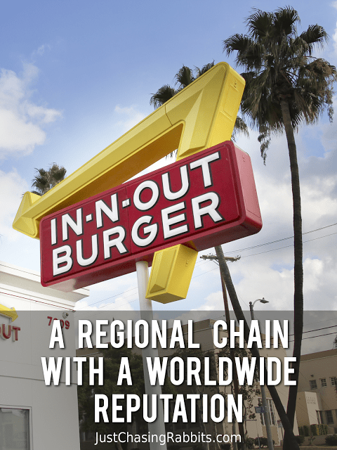 in-n-out burger in California