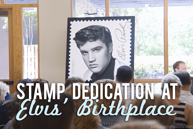 Stamp Dedication at Elvis' Birthplace