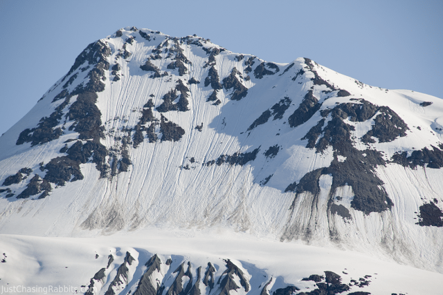 close up of mountain