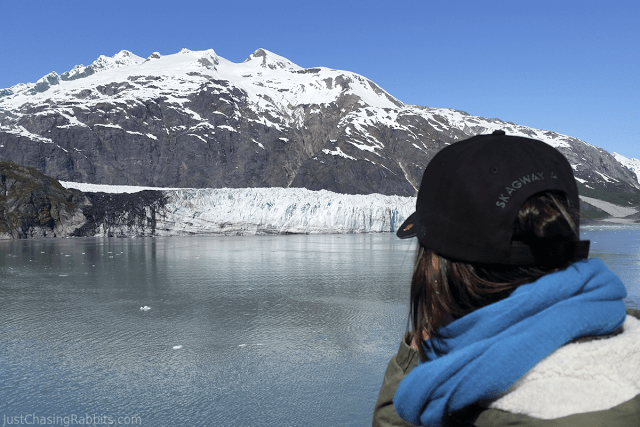 Jenni in Glacier Bay