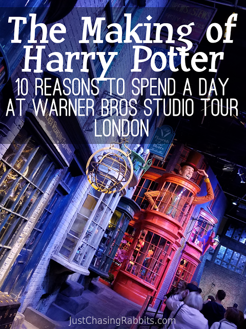 The Making of Harry Potter 10 Reasons to Spend a Day at Warner Bros Studio Tour London