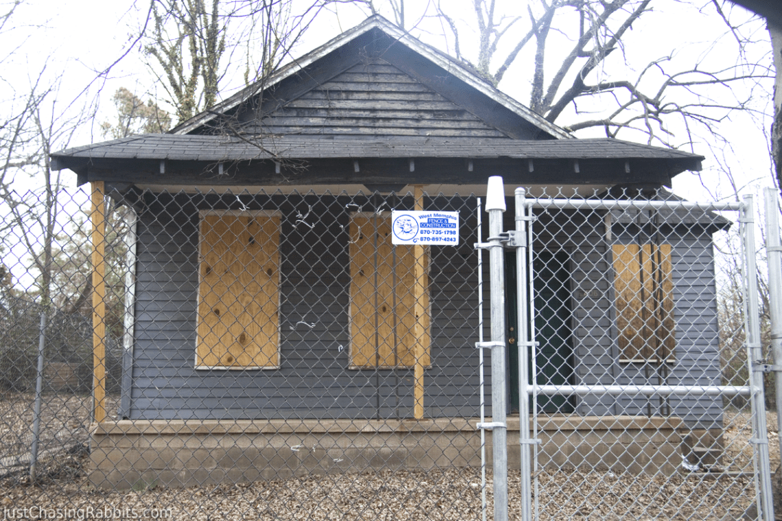 Birthplace of Aretha Franklin in Memphis Tennessee
