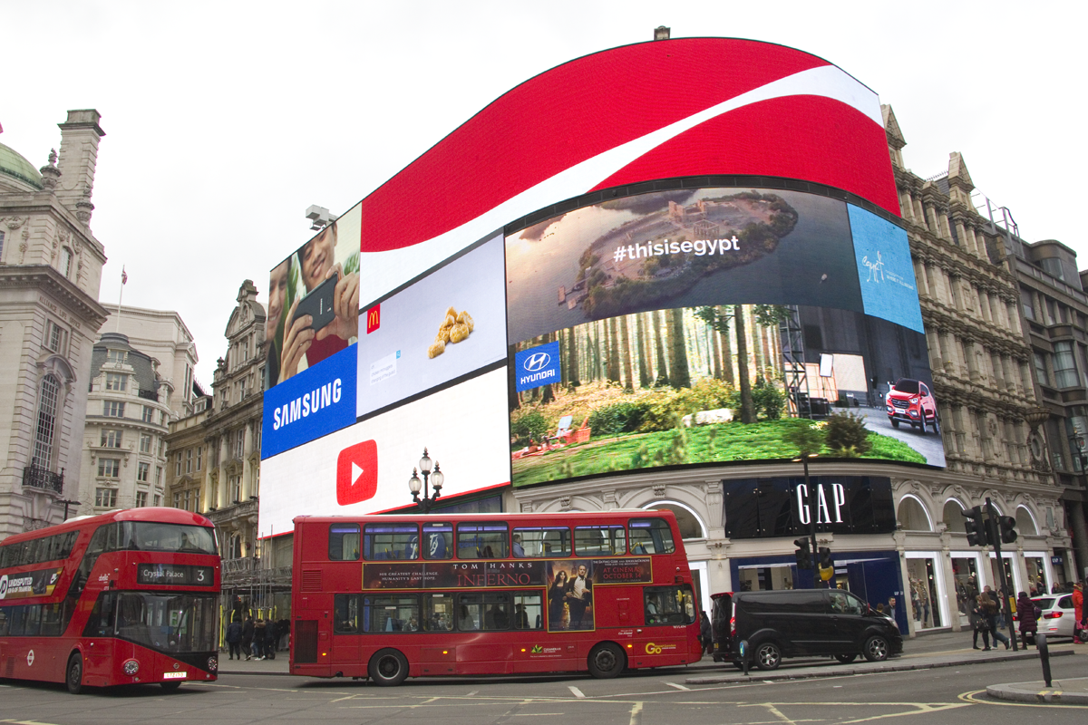 Piccadilly Circus Harry Potter Filming Locations London