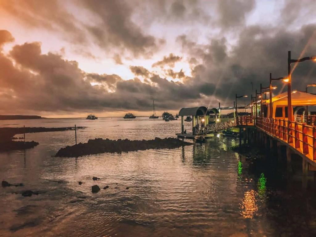 Santa Cruz Pier at Sunrise