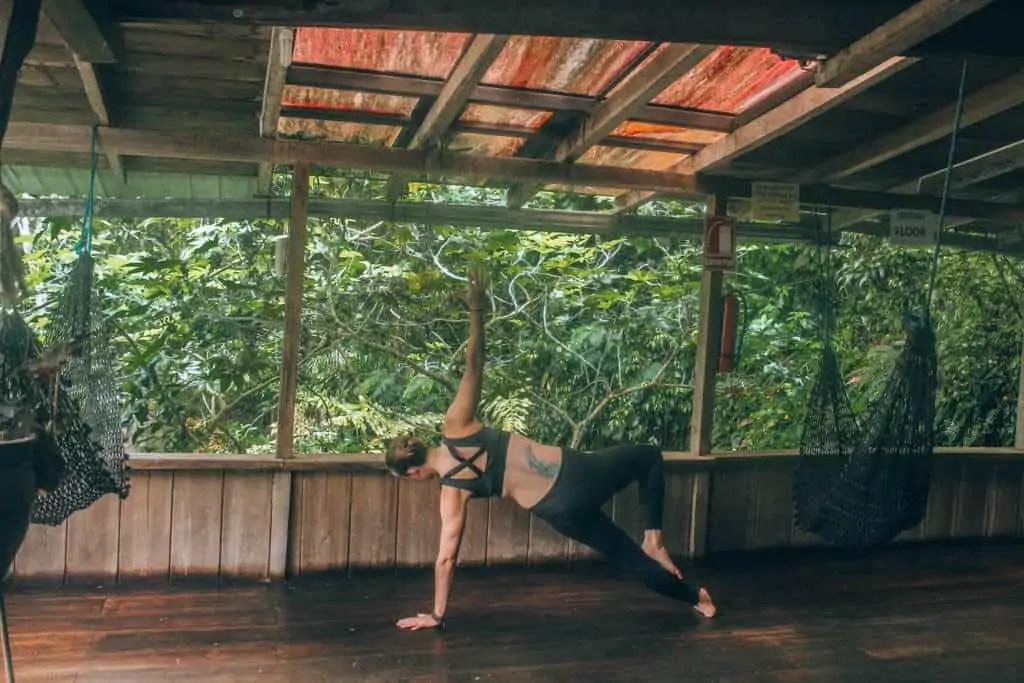 Yoga in Mindo