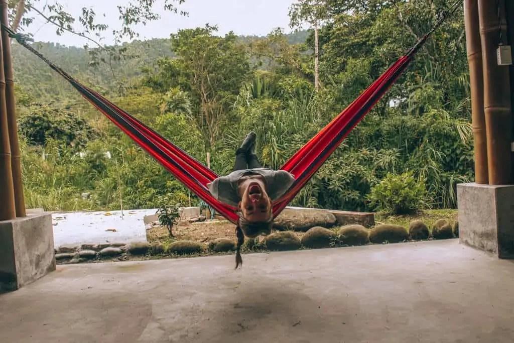 Hammock in Mindo, Ecuador