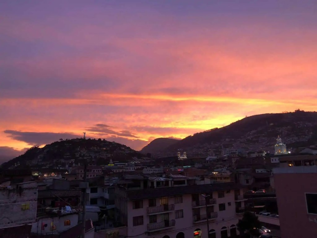 Quito Sunsets