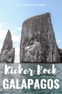 Kicker Rock Galapagos