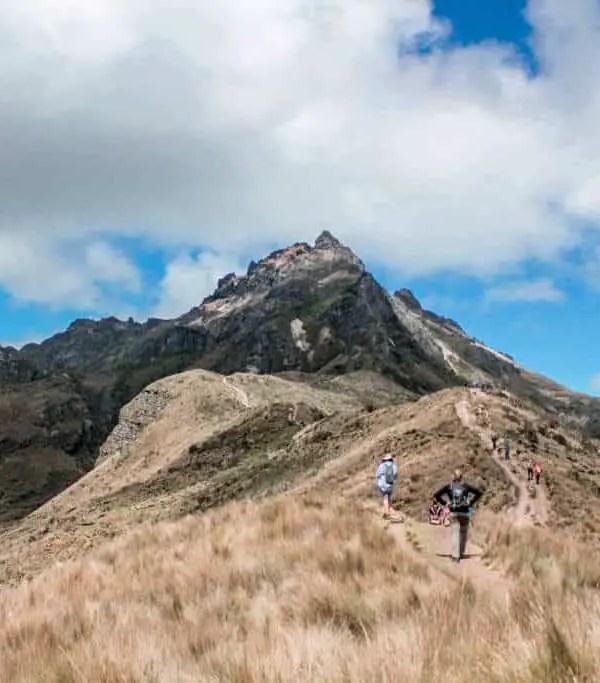 The Struggle to Complete the Rucu Pichincha Hike in Quito, Ecuador