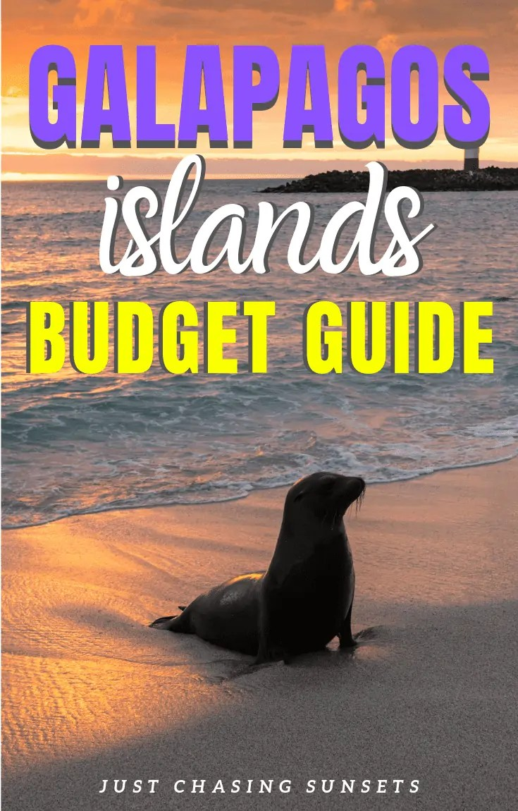 Galapagos Islands Budget Guide