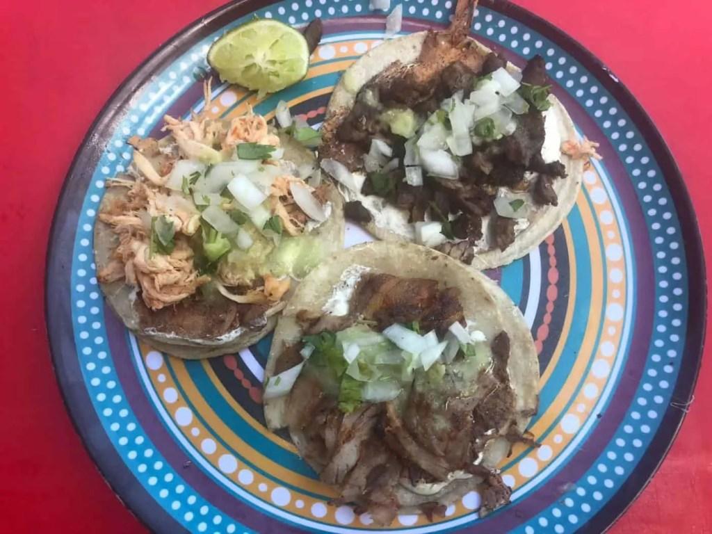 Tacos at Antojitos - Tulum Cheap Eats
