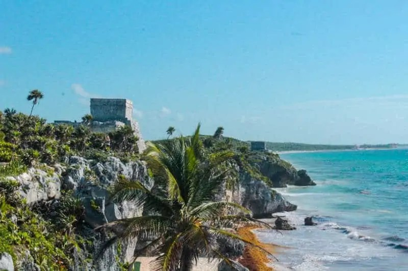 Tulum Ruins in Tulum, Mexico