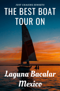 best boat tour on laguna bacalar mexic