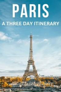 Paris: A Three Day Itinerary