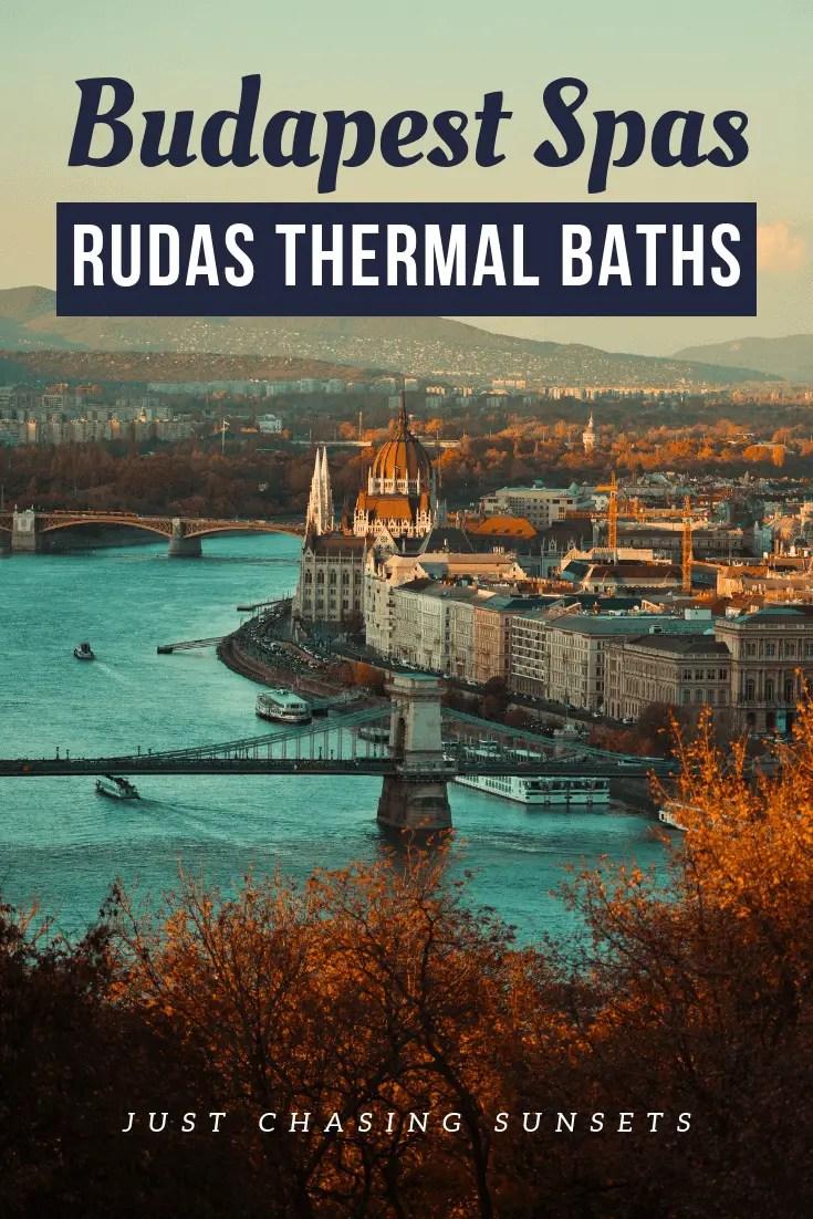 Budapest Spas - The Rudas Baths