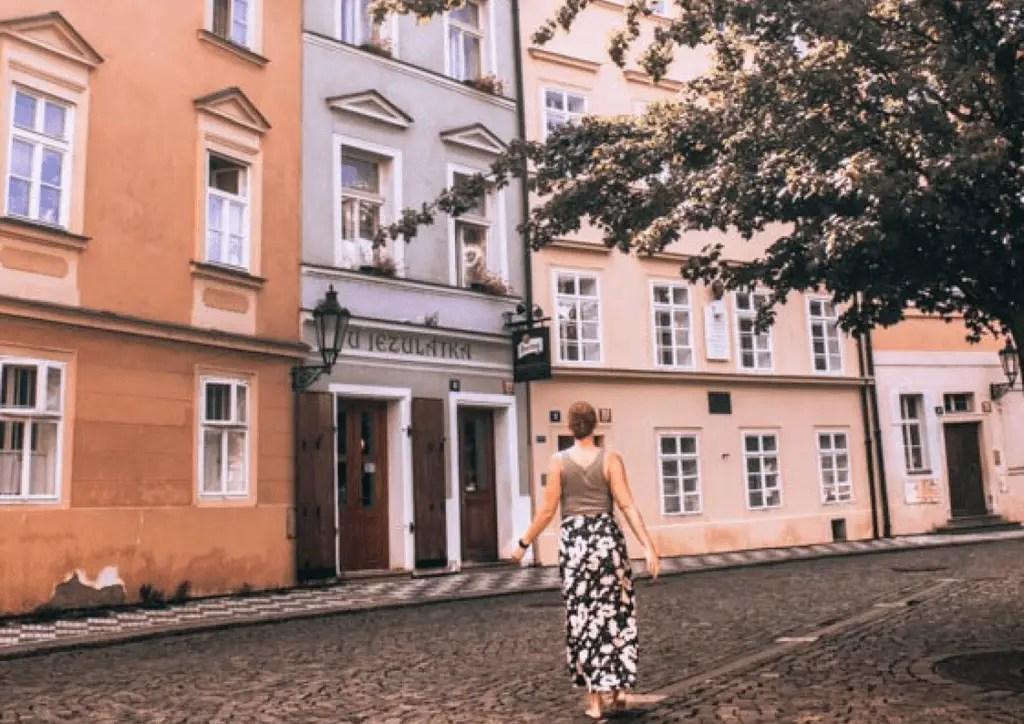 Explore the STreets of Prague as a badass solo female traveler