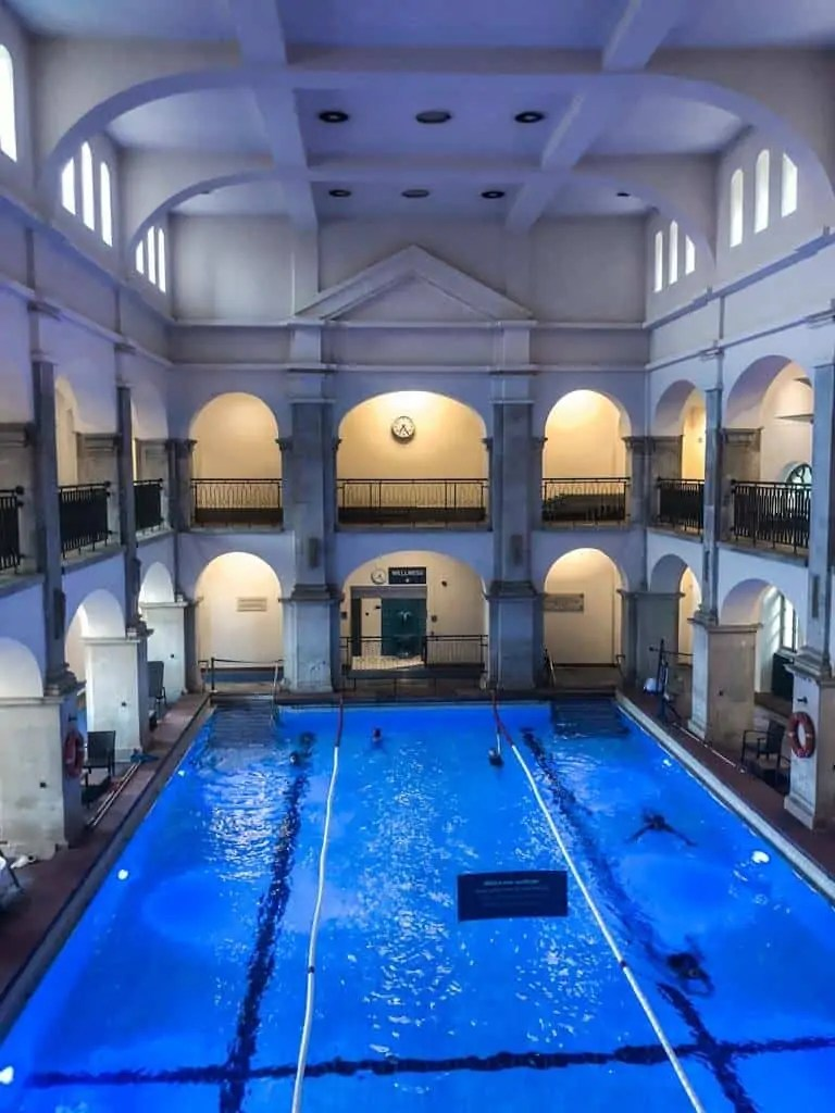 Rudas Baths Indoor Swimming Pool