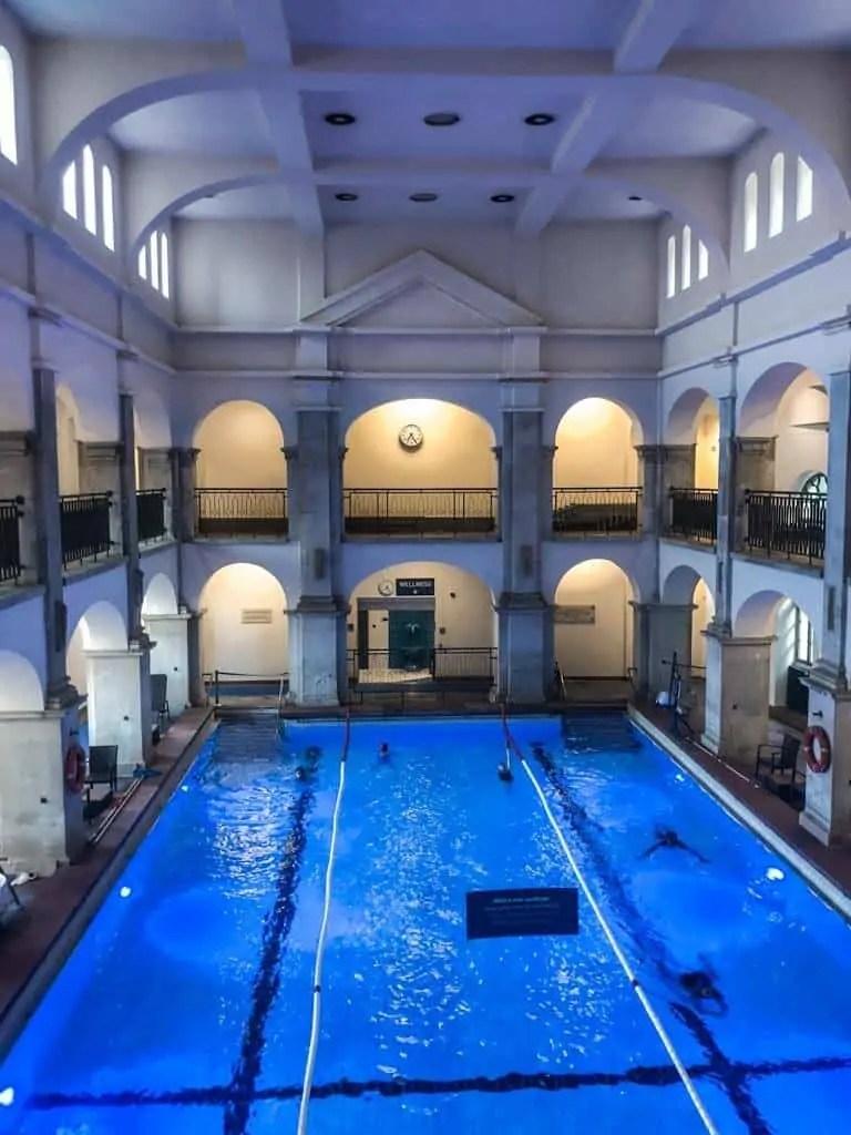 Rudas Baths Indoor Swimming Pool