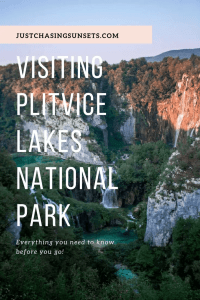 A day trip to Plitvice Lakes National Park
