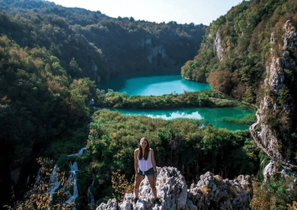 Epic View of Plitvice Lower Lakes