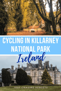 cycling in Killarney National Park