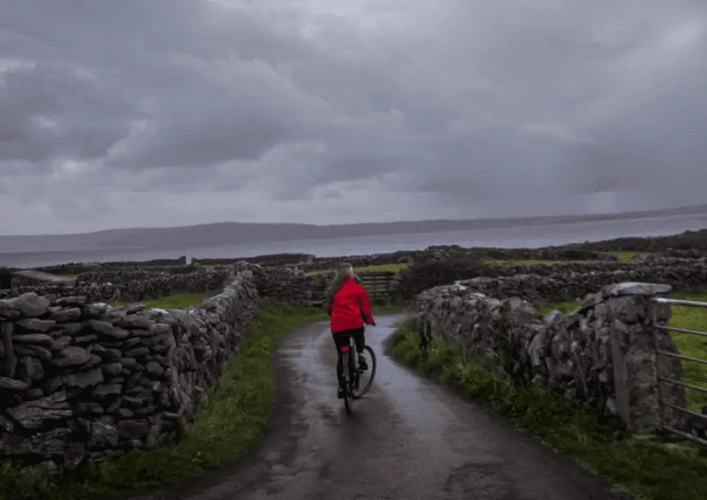 bike riding the aran islands