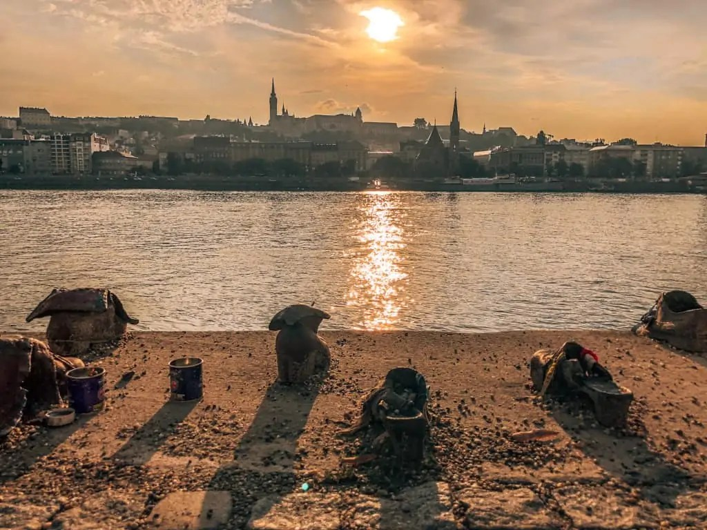 shoes on the danube