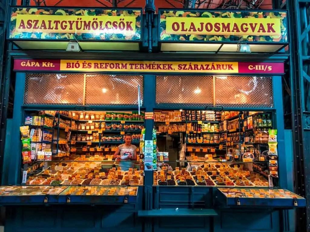 Budapest market