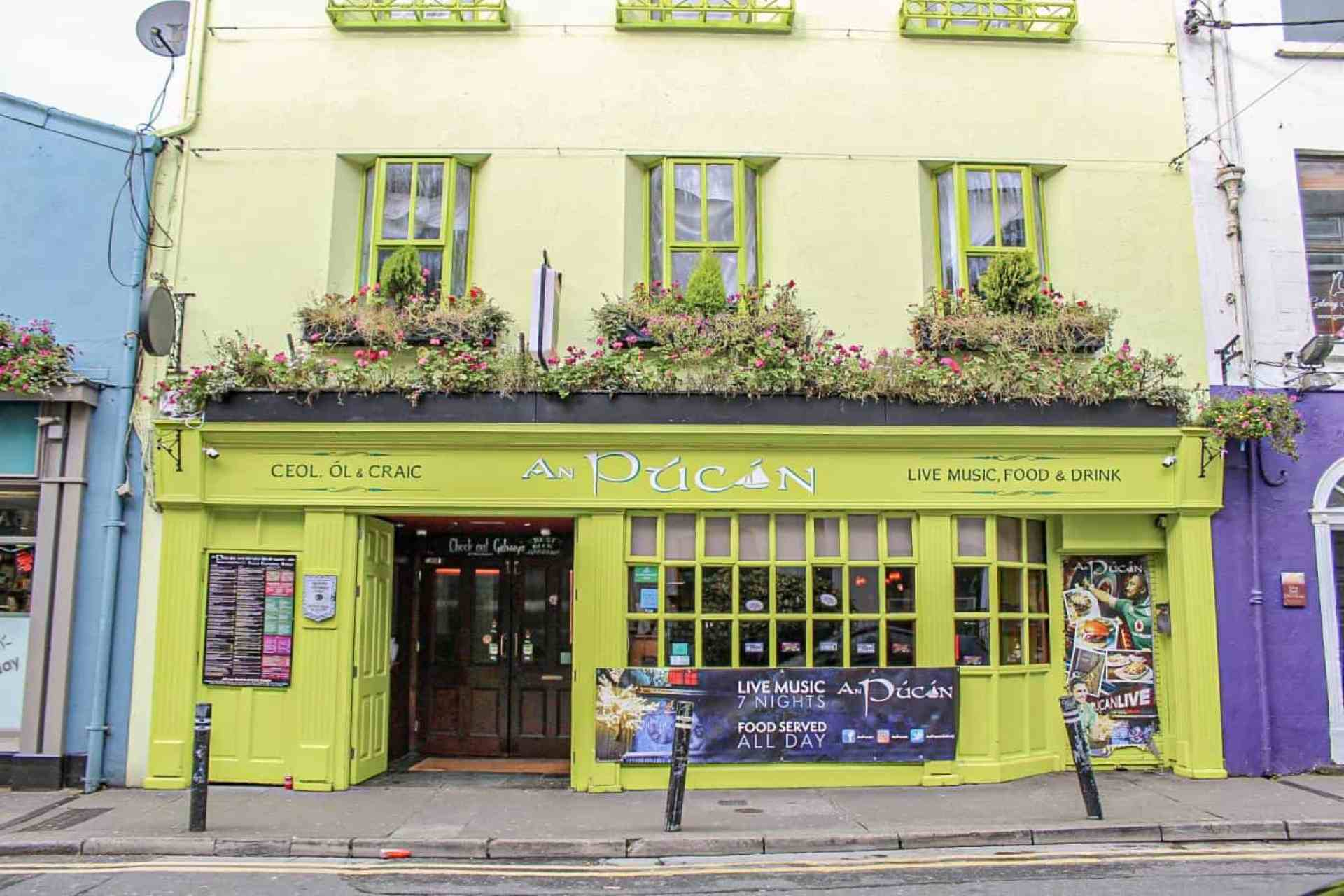 An Pucan Pub Galway Ireland
