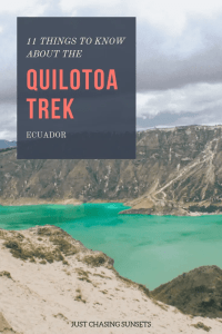 11 things to know about the Quilotoa trek