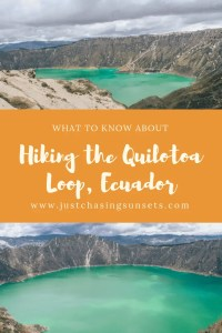 what to know about hiking the quilotoa loop, ecuador