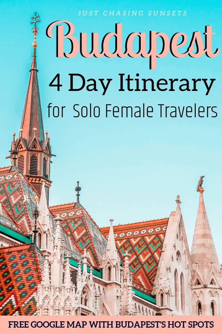 Budapest 4 day itinerary